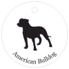 American bulldog silhouette - photo#24